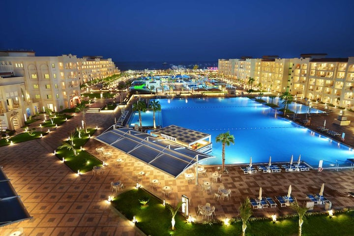 White Beach Resort in Hurghada, Red Sea, Egypt