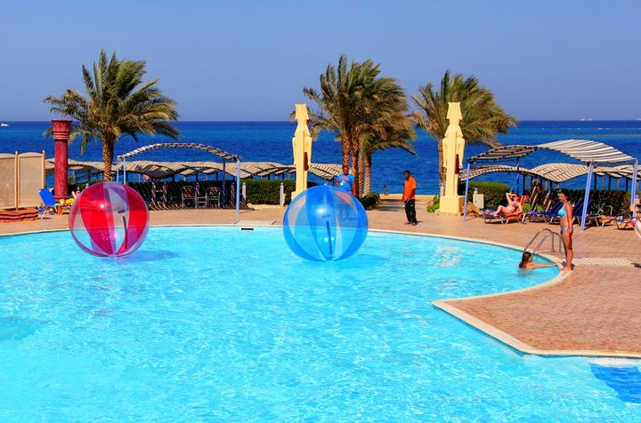Sphinx Resort in Hurghada, Red Sea, Egypt