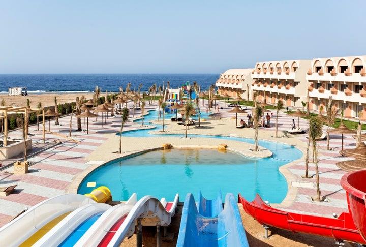 Three Corners Sea Beach Resort in Marsa Alam, Red Sea, Egypt