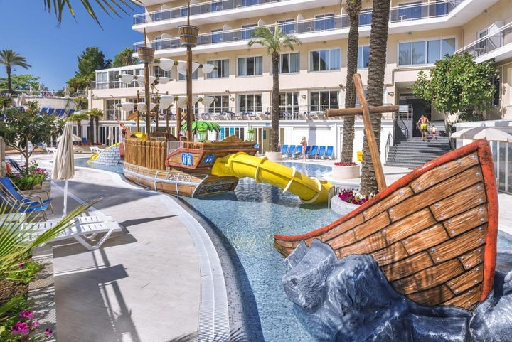 Oasis Park Splash Hotel in Calella, Costa Brava, Spain