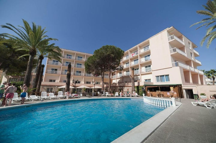 Hotel Playasol Marco Polo I in San Antonio, Ibiza, Balearic Islands