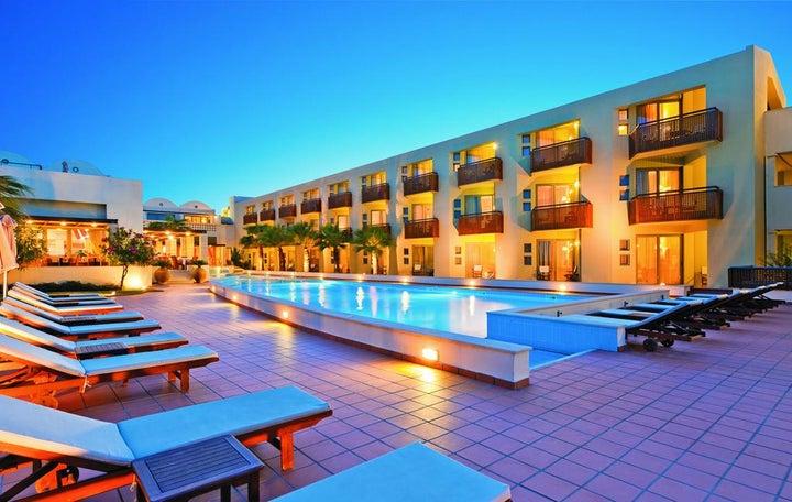 Giannoulis Santa Marina Plaza in Aghia Marina, Crete, Greek Islands