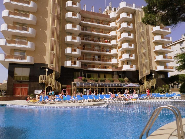Blaumar Hotel in Blanes, Costa Brava, Spain
