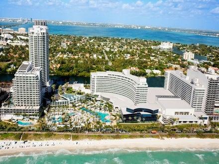 Fontainebleau Miami Beach in Miami Beach, Florida, USA