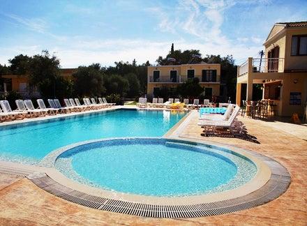 Yianetta Hotel Apartments in Kavos, Corfu, Greek Islands