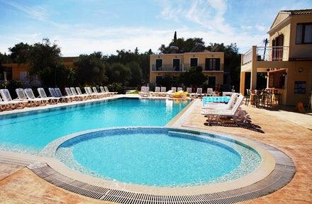 Yianetta Hotel Apartments In Kavos Corfu Greek Islands