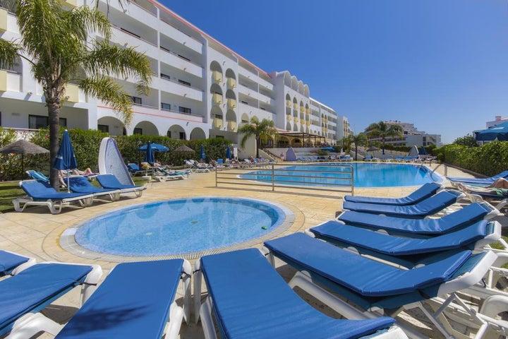 Paladim & Alagoamar Hotel in Albufeira, Algarve, Portugal