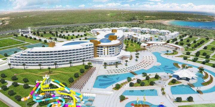 Aquasis Resort & Spa in Didim, Aegean Coast, Turkey