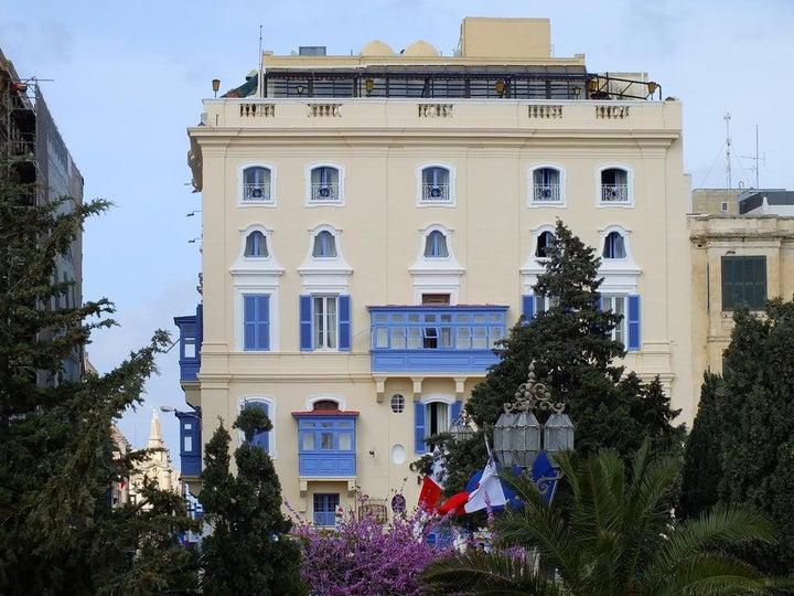 Castille Hotel in Valletta, Malta