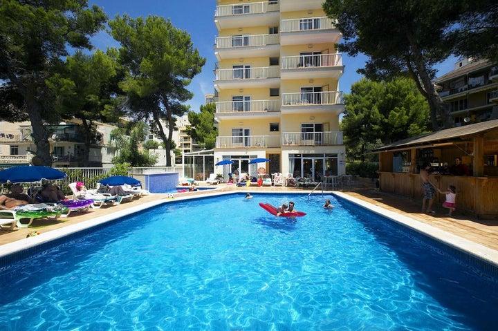 Paradise Beach Music Hotel in El Arenal, Majorca, Balearic Islands