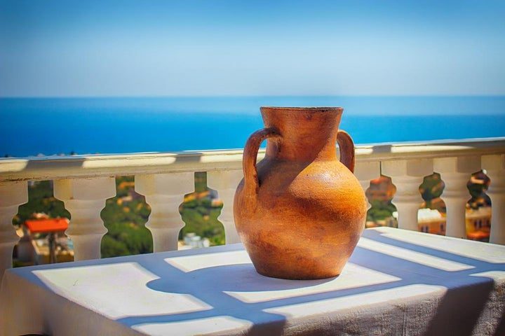 Korifi Suites Art Hotel in Hersonissos, Crete, Greek Islands