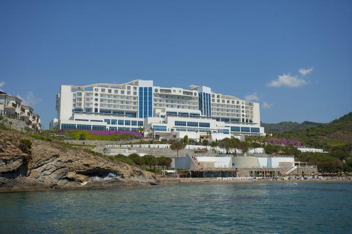 Aria Claros Beach And Spa Resort in Ozdere, Aegean Coast, Turkey