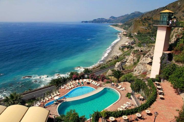 Baia Taormina Grand Palace Hotels & Spa in Taormina, Sicily, Italy