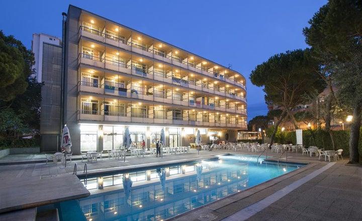 Hotel Monterrey in Playa de Aro, Costa Brava, Spain