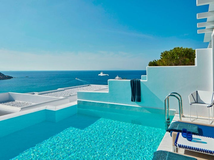 Myconian Ambassador Hotel & Thalasso Center in Platis Yialos, Mykonos, Greek Islands