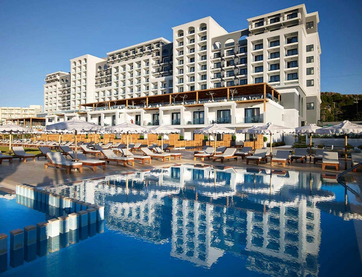 Mitsis Alila Resort & Spa in Faliraki, Rhodes, Greek Islands