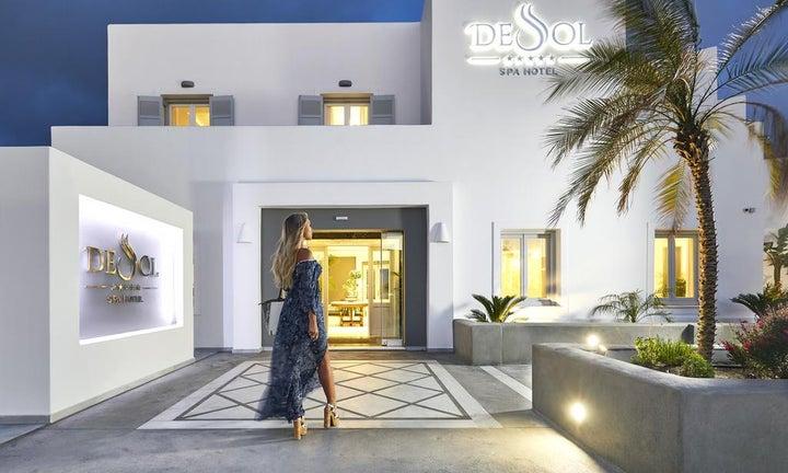 De Sol Resort in Fira, Santorini, Greek Islands