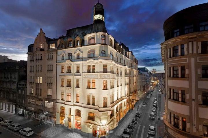 Art Nouveau Palace Hotel in Prague, Czech Republic
