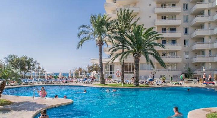 Playa Dorada Apartments in Sa Coma, Majorca, Balearic Islands