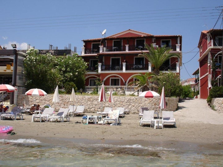 Villa Grimani in Laganas, Zante, Greek Islands