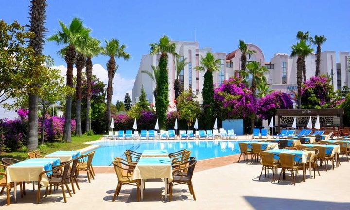 Idas Park Hotel in Icmeler, Dalaman, Turkey