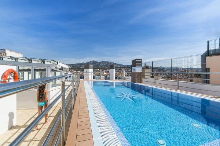 Blau Apartments in Lloret de Mar, Costa Brava, Spain