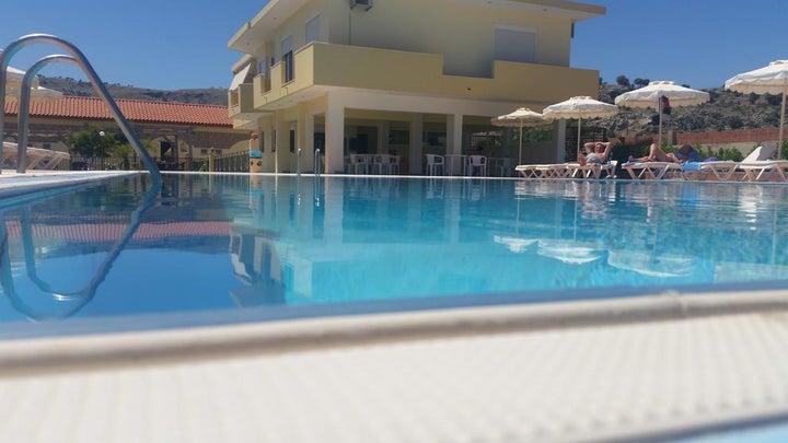 Sunshine Hotel in Lardos, Rhodes, Greek Islands