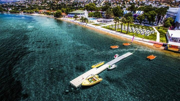 Club Blue White in Turgutreis, Aegean Coast, Turkey