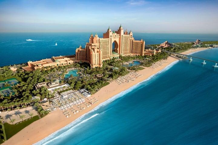 Atlantis The Palm in The Palm Jumeirah, Dubai, United Arab Emirates