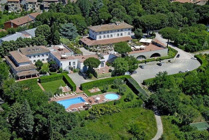 Garden Hotel in Siena, Tuscany, Italy