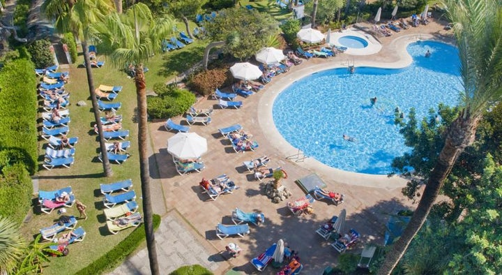 Palmasol Hotel in Benalmadena, Costa del Sol, Spain