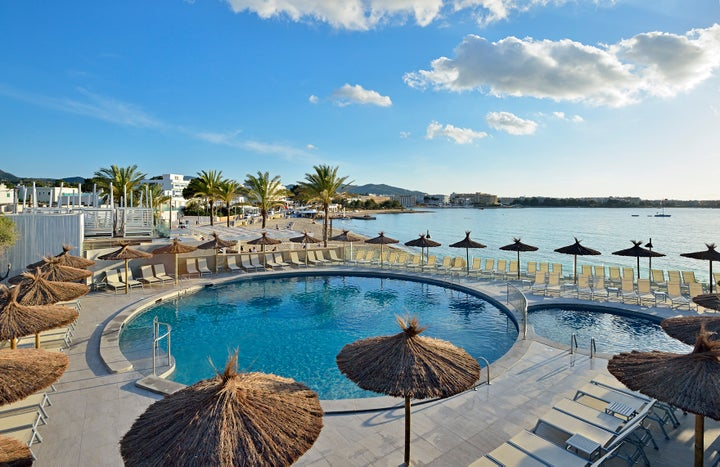 Alua Hawaii Ibiza (ex Intertur) in San Antonio, Ibiza, Balearic Islands