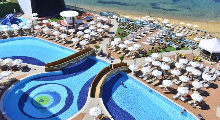 Azura Deluxe Hotel in Alanya, Antalya, Turkey