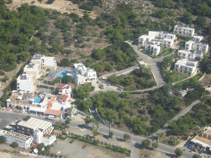 Hotel Pefkos Beach in Pefkos, Rhodes, Greek Islands