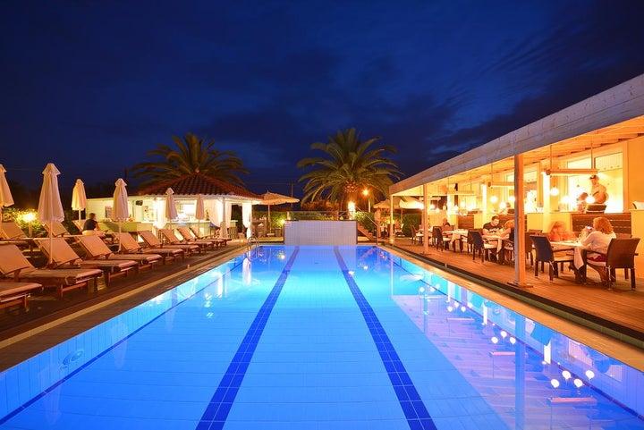 Agrilia Hotel in Laganas, Zante, Greek Islands