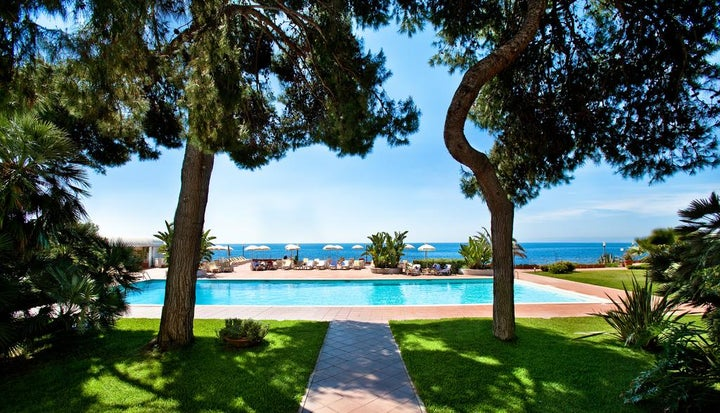Grand Hotel Baia Verde in Catania, Sicily, Italy