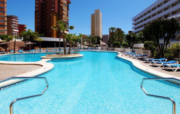 Poseidon Resort in Benidorm, Costa Blanca, Spain