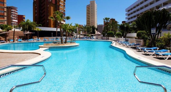 Poseidon resort in benidorm spain holidays from 239pp - Swimming pool repairs costa blanca ...