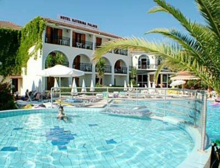 Katerina Palace Hotel in Argassi, Zante, Greek Islands