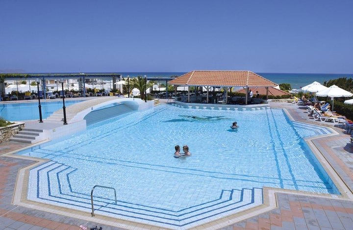 Annabelle Beach Resort in Anissaras, Crete, Greek Islands
