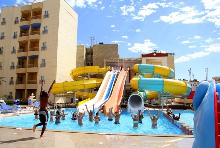 King Tut Aqua Beach Resort in Hurghada, Red Sea, Egypt