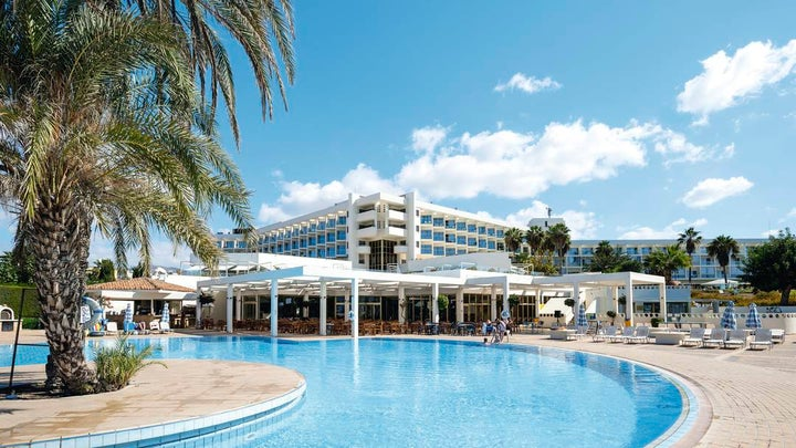 Leonardo Club Laura Beach and Splash Resort in Paphos, Cyprus