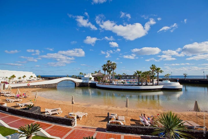 Sands Beach Resort in Costa Teguise, Lanzarote, Canary Islands