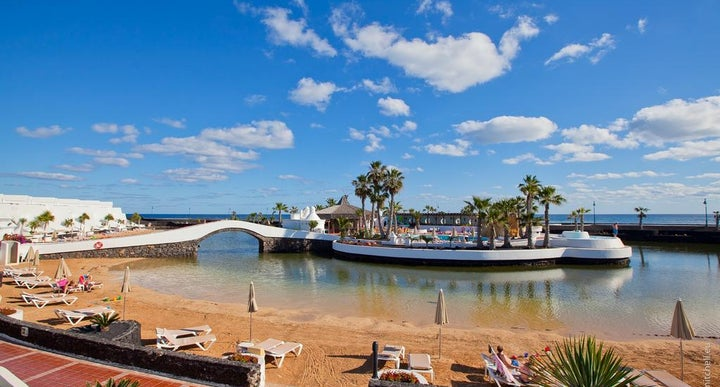 Sands Beach Resort In Costa Teguise Lanzarote Canary Islands