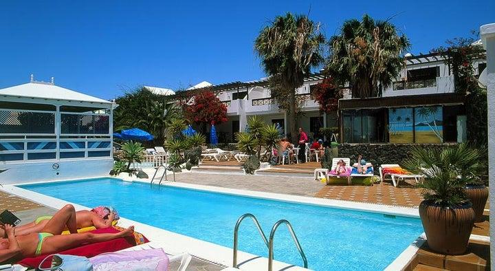 Los Tulipanes Apartment Complex in Puerto del Carmen, Lanzarote, Canary Islands
