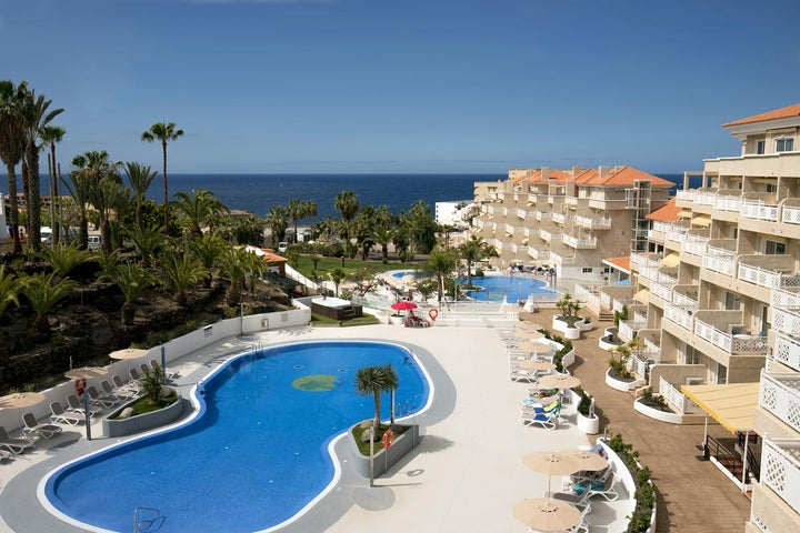 Tropical Park Hotel in Callao Salvaje, Tenerife, Canary Islands