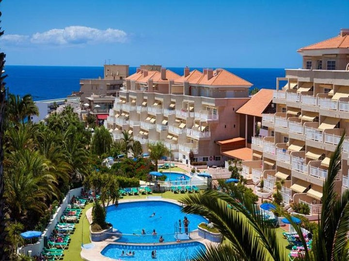 Tropical Park Hotel in Callao Salvaje, Tenerife, Canary Islands