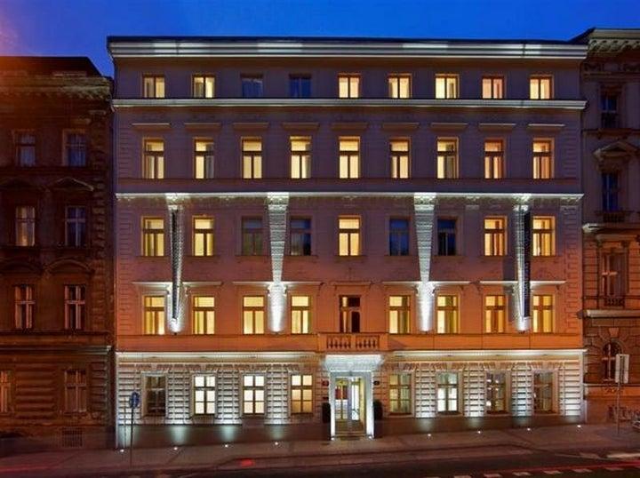 Red & Blue Design in Prague, Czech Republic