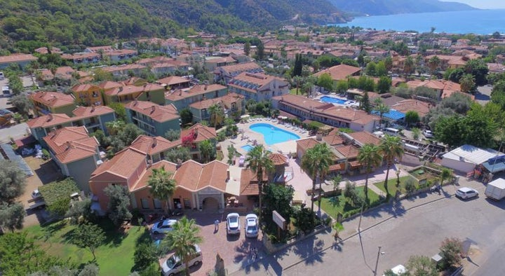 The Tower Hotel in Olu Deniz, Dalaman, Turkey