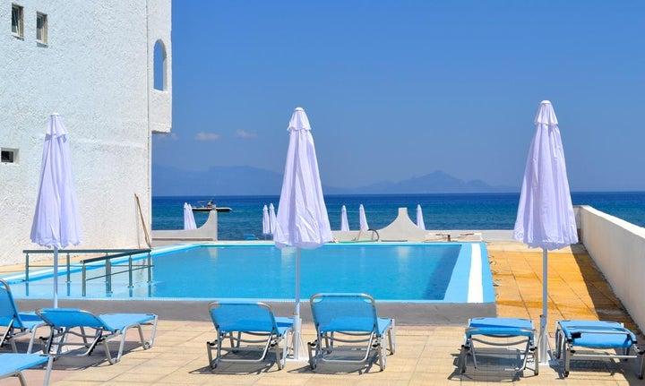 Island Resorts Maya (Ex Valynakis Beach) in Kardamena, Kos, Greek Islands
